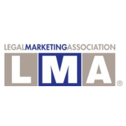 Legal Marketing Association logo the journal of legal marketing