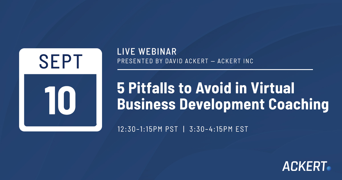 five pitfalls to avoid in virtual business development coaching
