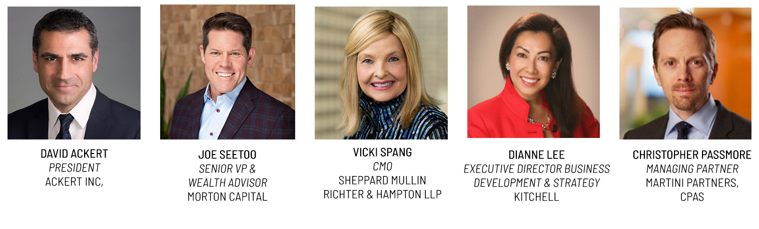 Panelists for Webinar: How Professional Services Manage Opportunity Pipelines